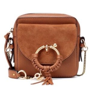 SEE BY CHLOÉ Joan Mini leather camera bag